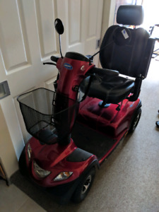 Invacare comet scooter