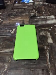 For sale iPhone 6 Plus  or 6S plus green apple silicone case