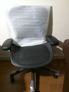 Fully Loaded B Size Herman Miller Aeron Chair