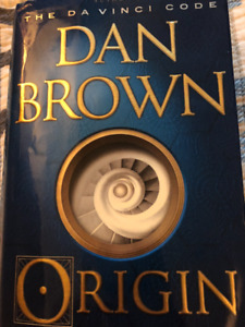 Dan Brown Origin Hard Cover Excellent condition