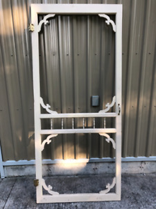Screen door frame