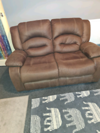 ☆☆ 2 Seater Recliner Sofa Plus 1 Chair,Excellent Condition ☆☆ONLY £70!