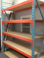 """PALLET RACKING FOR SALE. Starting at only """"$99.00"""" per section"""