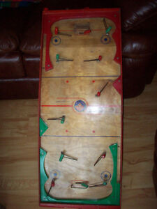 1940-50`s Munro Hockey Table Game Wooden