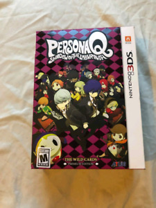 PersonaQ: Shadow of the Ladyrinth Special Edition 3DS Video Game