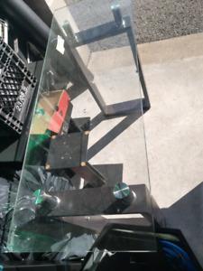 Glass sofa table/ bar table