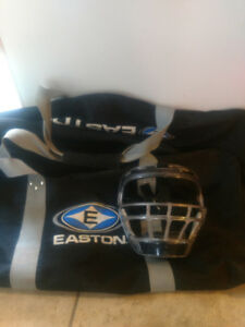 Free Baseball Bag and Fielder's Mask