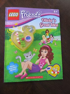 BRAND NEW Lego Friends: Olivia's Great Idea Book