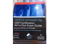 Oracle OCP Certification Book