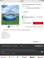 Piscine gonflable 15 pied