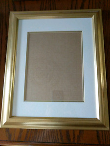 8X10 gold picture frame