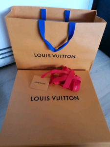 Louis Vuitton Large Retail Pacaging LVBoxes & Bags