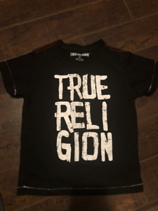 True Religion Boy's Size 4 T-shirt - Great condition!