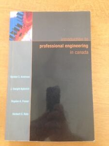 For Sale: Introduction to Professional Engineering in Canada Sarnia Sarnia Area image 1