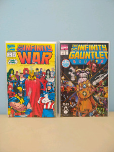 FULL SET - Infinity War + Infinity Gauntlet Comics+++