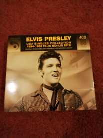 Elvis Presley. U. S. A Singles collection 1954-1962.4CD set.