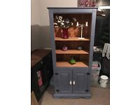 Pine bookcase painted in Annie Sloan