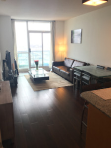 Downtown Union Station Condo 1+1, 2 bath for rent (w/ Parking)