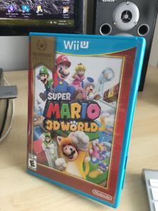 Super Mario 3D World pour Wii (u) NEUF!!!