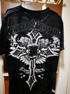 Xtreme Couture Mens Medium T Shirt