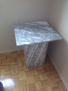 Mob marble end tables for sale
