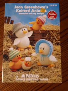 Knitting Books for dolls and soft toys