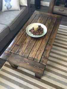 Beautiful, Hand-Crafted Farmhouse Rustic Coffee Table