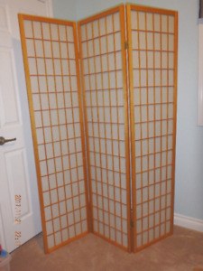 Oriental Floor Screen