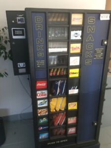 Vending Machines- Pop and Snack