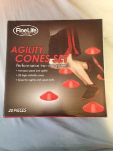 Agility Cones--20 pack