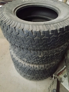 Tires-4 used bf goodrich