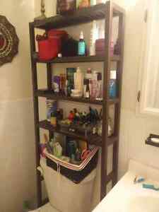 Ikea bathroom shelving unit
