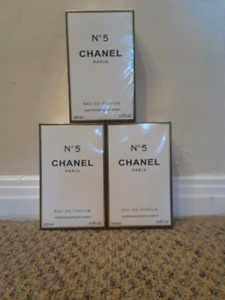 Chanel Paris N°5 100 ml 45$each