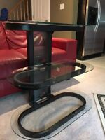 Tv stand glass $40 OBO