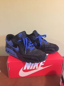 Nike AirMax 90 - black and blue size 12 West Island Greater Montréal image 2