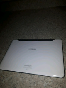 Samsung Galaxy Tab 10.1 with case $130