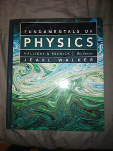 Fundamentals of Physics 9th Edition Hardcover Kitchener / Waterloo Kitchener Area image 1