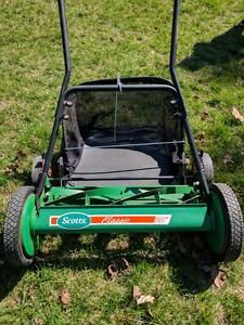 Scott's 20 Inch Push Reel Lawn Mower