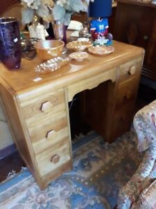 Antique Make up Stand