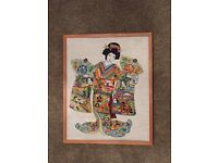 Gasher Girl Cross Stitch picture