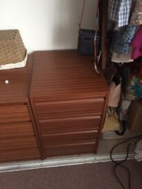 Shoe storage drawers/chest of drawers