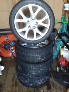 MAZDA 6 TIRES AND RIMS