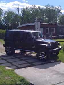 2007 Jeep Wrangler Unlimited 4 door lifted
