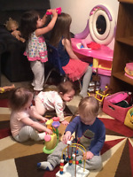 Child care space available (2.5 years or above)