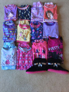 Girls Pajamas Size 8,10 Lot!
