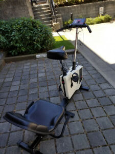 Combi Cycle EX80 Recumbent/Upright Stationary Bike; Recumbent Bi