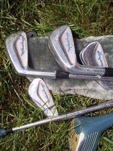 6 bâtons de golf