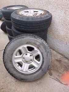Tires off an 07 Jeep Wrangler