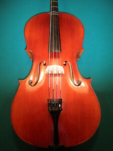 Trade?...Wilhelm Eberle 3/4 Cello & Anton Schroetter Bow.