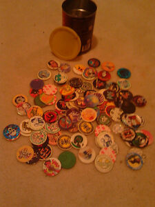 Nice little Vintage Pog Collection including Slammers